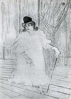 Cissy Loftus, 1894, toulouselautrec