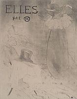 Couverture for Elles, c.1896, toulouselautrec