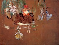 Dinner at the House of M. and Mme. Nathanson, 1898, toulouselautrec