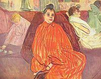 The Divan, 1893, toulouselautrec