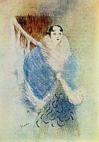 Elsa The Viennese, 1897, toulouselautrec