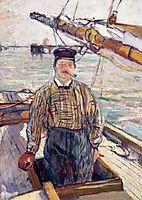 Emile Davoust, 1889, toulouselautrec