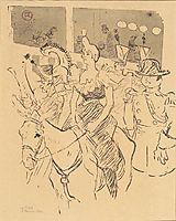 Entry of Cha u Kao, c.1896, toulouselautrec