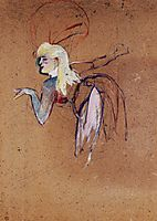 Extra in the Folies Bergere Revue, 1896, toulouselautrec
