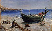 Fishing Boat, 1880, toulouselautrec