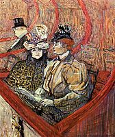 The Grand Tier, 1897, toulouselautrec