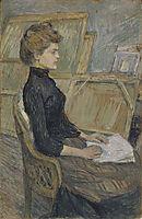 Helene Vary, 1889, toulouselautrec