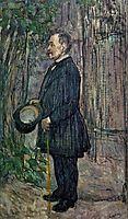 Henri Dihau, 1891, toulouselautrec