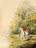 Hunting, 1880, toulouselautrec