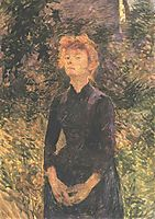 In Batignolles..., 1888, toulouselautrec