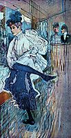 Jane Avril Dancing, 1892, toulouselautrec