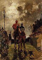 Jockeys, 1882, toulouselautrec