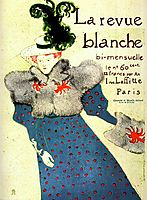 Thejournalwhite(poster), 1896, toulouselautrec