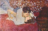 The Kiss, 1893, toulouselautrec