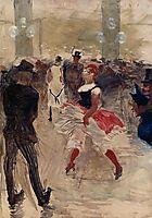 A l Elysee Montmartre, 1888, toulouselautrec