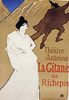 La Gitane The Gypsy , 1899, toulouselautrec