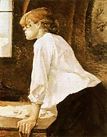 The Laundry Worker, 1888, toulouselautrec