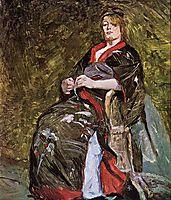 Lili Grenier in a Kimono, 1888, toulouselautrec