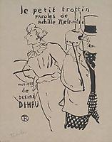 The Little Trottin, c.1893, toulouselautrec