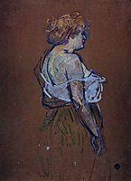Lucie Bellanger, 1896, toulouselautrec