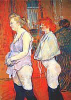 The Medical Inspection, toulouselautrec