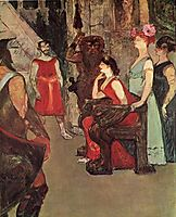 Messalina Seated, 1900, toulouselautrec