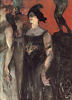 Messaline (between two extras), 1901, toulouselautrec