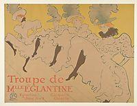 Miss Eglantine Troupe, toulouselautrec