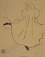 Miss May Milton, from Le Rire, c.1895, toulouselautrec