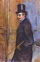 Monsieur Louis Pascal, 1891, toulouselautrec