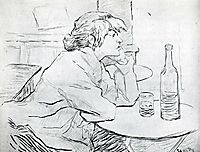 The Morning After, 1889, toulouselautrec
