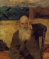 Old Man at Celeyran, 1882, toulouselautrec