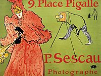 The Photagrapher Sescau, 1894, toulouselautrec