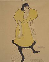 Polaire, c.1895, toulouselautrec