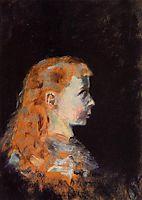 Portrait of a Child, 1882, toulouselautrec