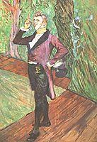 Portrait of M. Samary, 1889, toulouselautrec