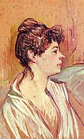 Portrait of Marcelle, 1894, toulouselautrec