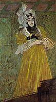 PortraitofMissMayBelfort, 1890, toulouselautrec