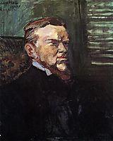 Portrait of Octave Raquin, 1901, toulouselautrec