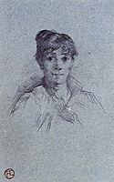 Portrait of a Woman, 1888, toulouselautrec