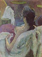 Ruhendes Modell, 1896, toulouselautrec
