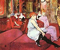 The Salon de la Rue des Moulins, 1894, toulouselautrec