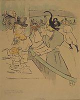 Skating, c.1896, toulouselautrec