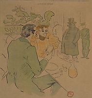Snobisme, c.1897, toulouselautrec