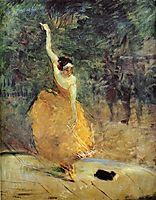 The Spanish Dancer, 1888, toulouselautrec