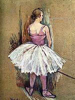 Standing Dancer, 1890, toulouselautrec