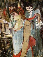 The Tatooed Woman, 1894, toulouselautrec