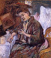 TheToiletMs.Fabre, 1891, toulouselautrec