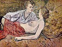 Two Friends, 1895, toulouselautrec