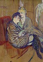 The Two Girlfriends, 1894, toulouselautrec